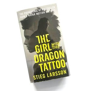 The Girl With The Dragon Tattoo Paperback Book